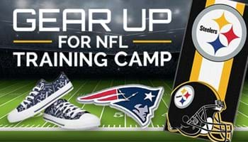Gear up for NFL Training Camp