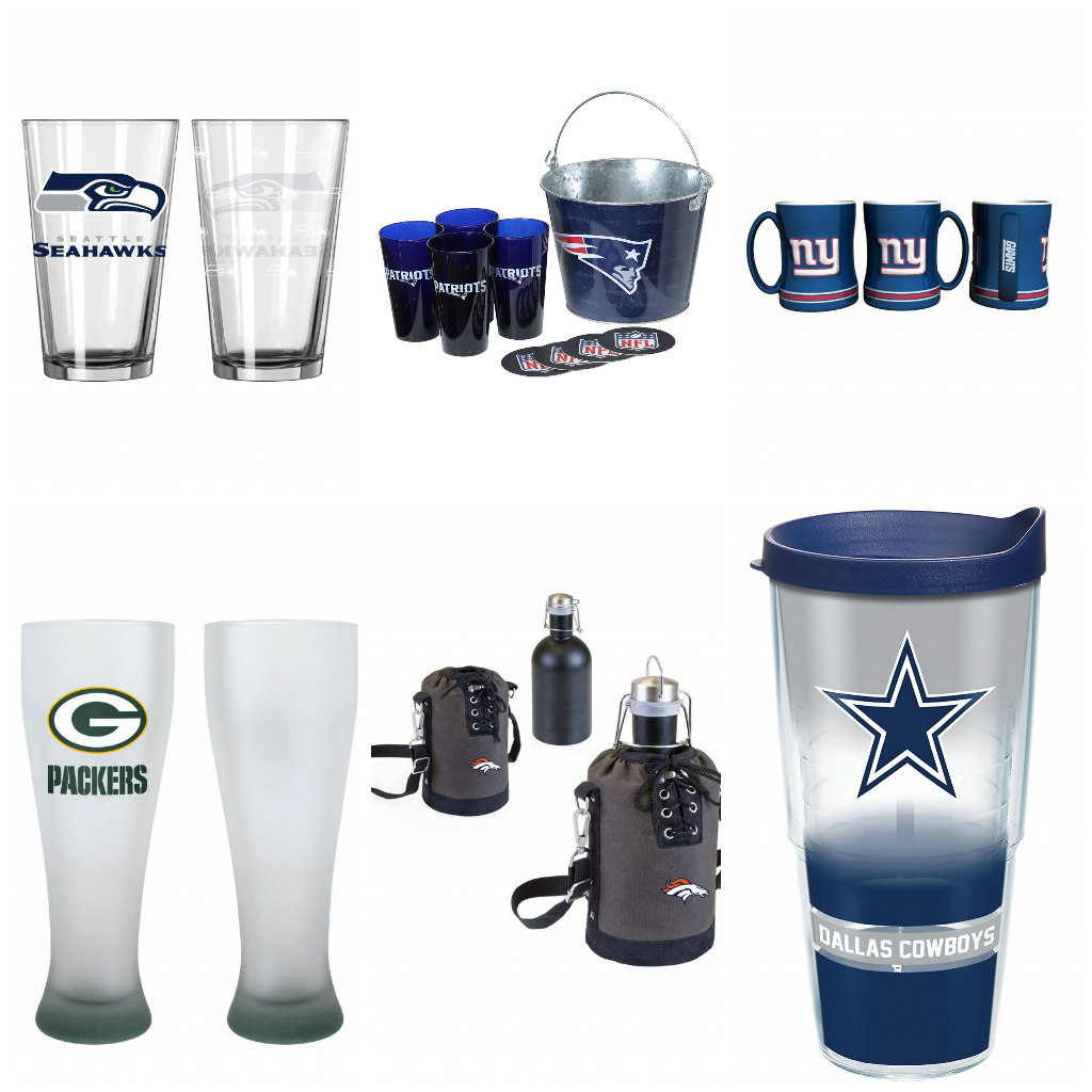 NFL Glasses and Drinkware