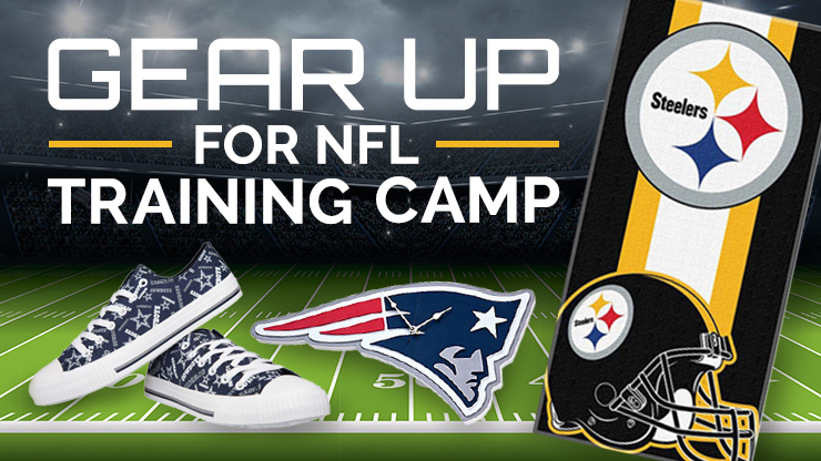 NFL training camp gifts