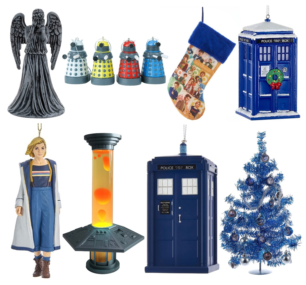 Doctor Who Ornaments and Decorations