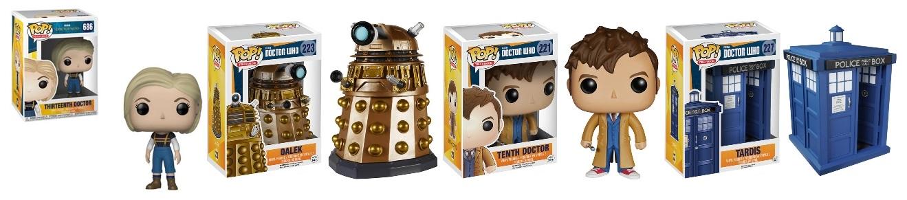 Doctor Who Pop! Vinyl