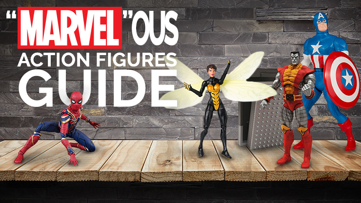 """Marvel""ous Marvel Action Figures Guide"