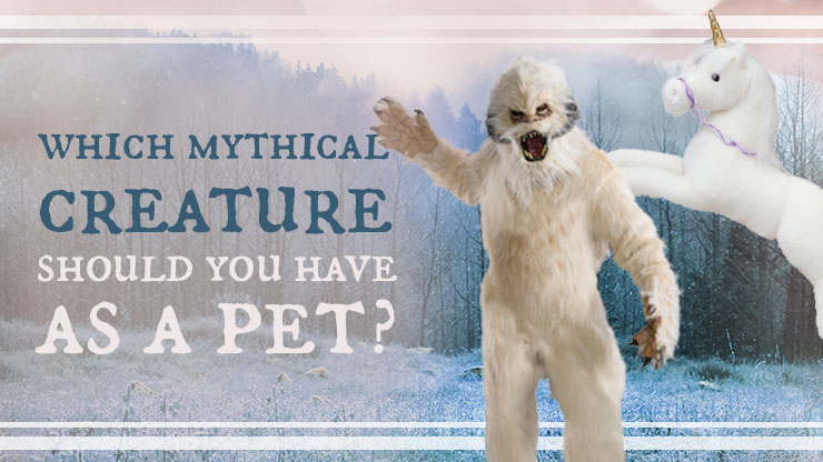 Which Mythical Creature Should You Have as a Pet?