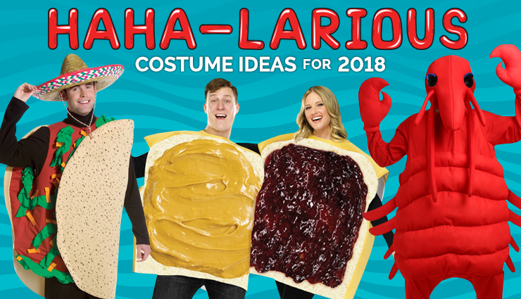 Haha-larious Costume Ideas for 2018