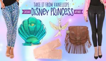 Take It From Vanellope: Casual Disney Princess Apparel