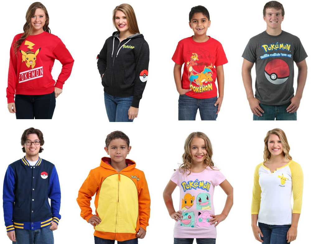 Pokemon apparel