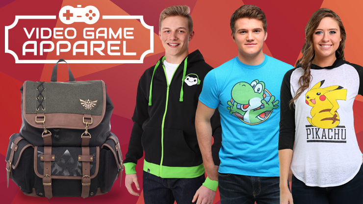 Your Guide to Video Game Apparel