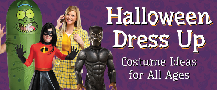 Halloween Dress Up: Costumes Ideas for All Ages