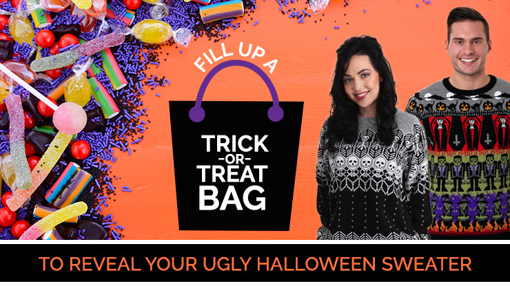 Fill Up a Trick-or-Treat Bag to Reveal Your Ugly Halloween Sweater [Quiz]