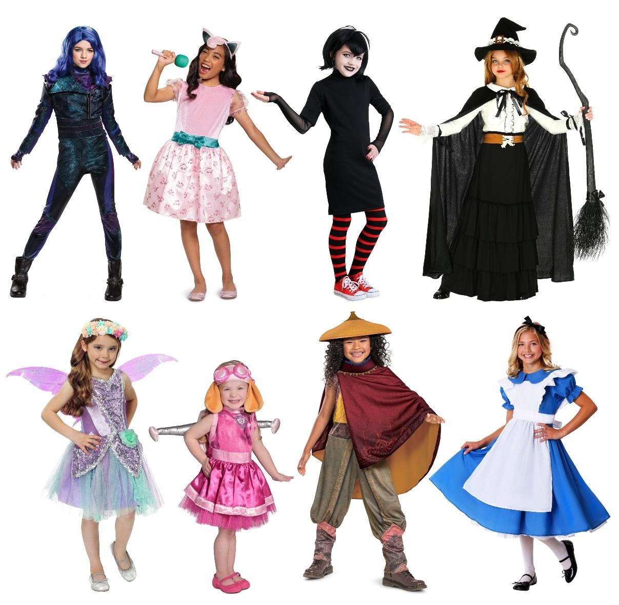 Popular Girls' Costumes