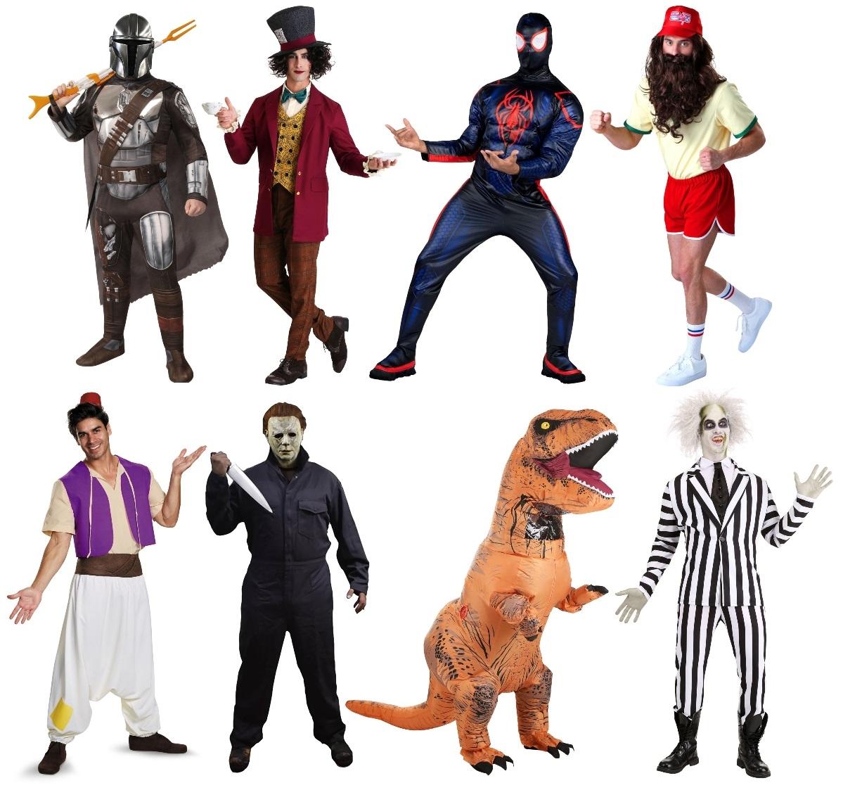 Popular Men's Costumes