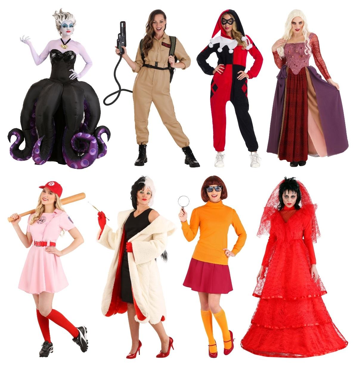 Popular Women's Costumes