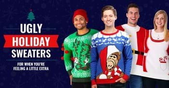 Ugly Holiday Sweaters for When You're Feeling a Little Extra