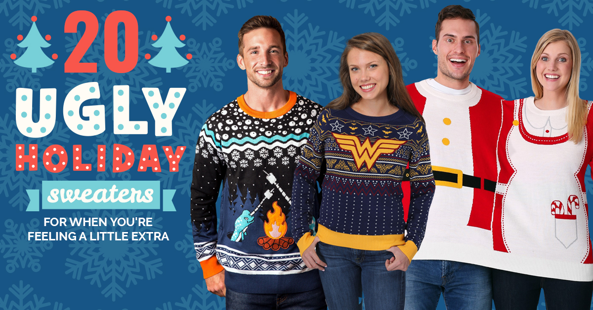 Ugly Cheap Holiday Sweaters