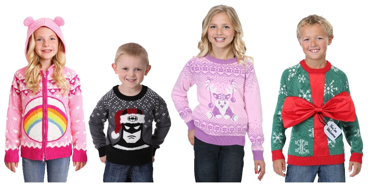 Kids' Ugly Christmas Sweaters