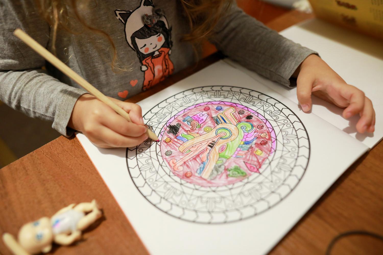 Kid Coloring Activity