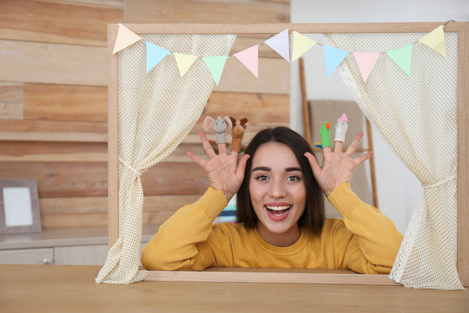 Puppet Show at Home