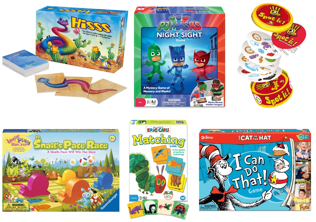 Board Games for Children 5 and Under