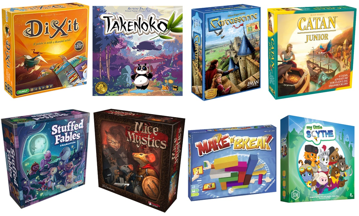 Board Games for Kids Age Six and Above