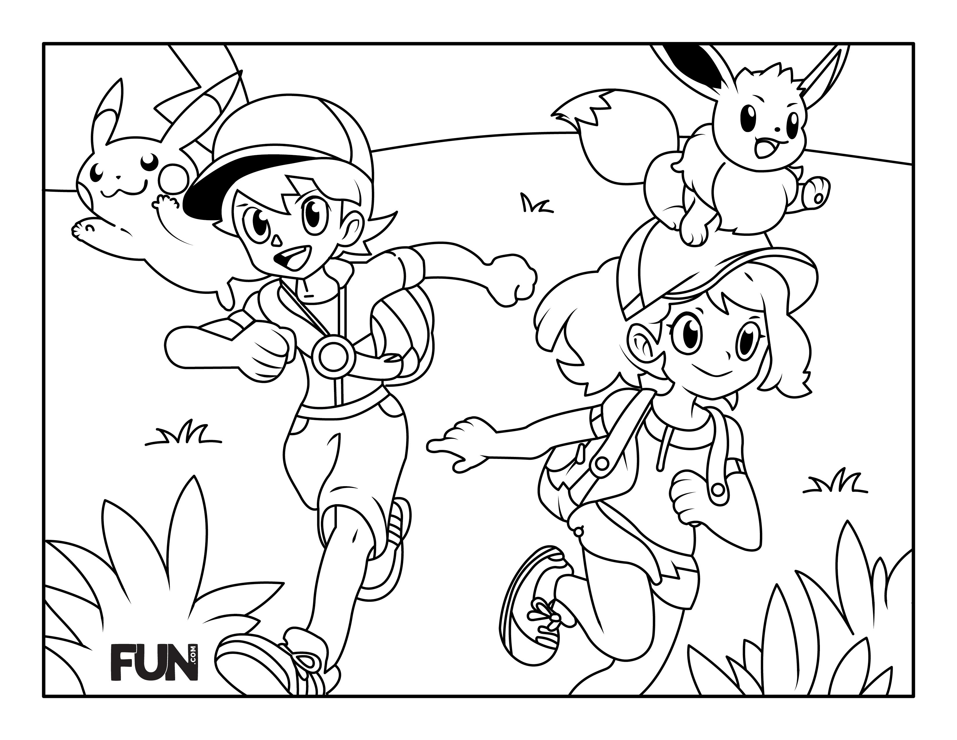 Pokémoncoloring page