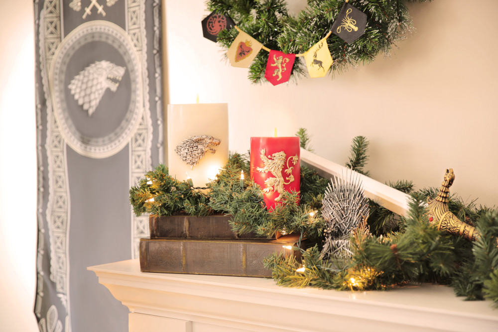 Game of Thrones Mantle Decorations