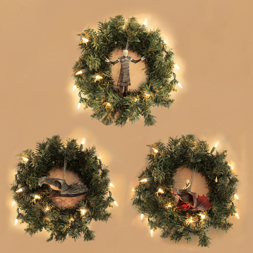 Game of Thrones Christmas Ornaments and Wreaths