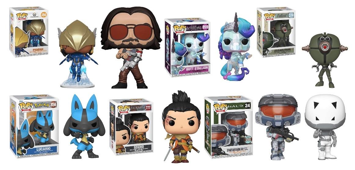 Pop! Games Figures