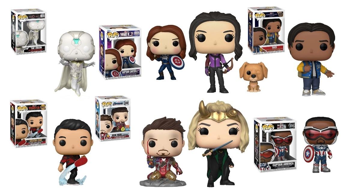 Pop! Marvel Figures
