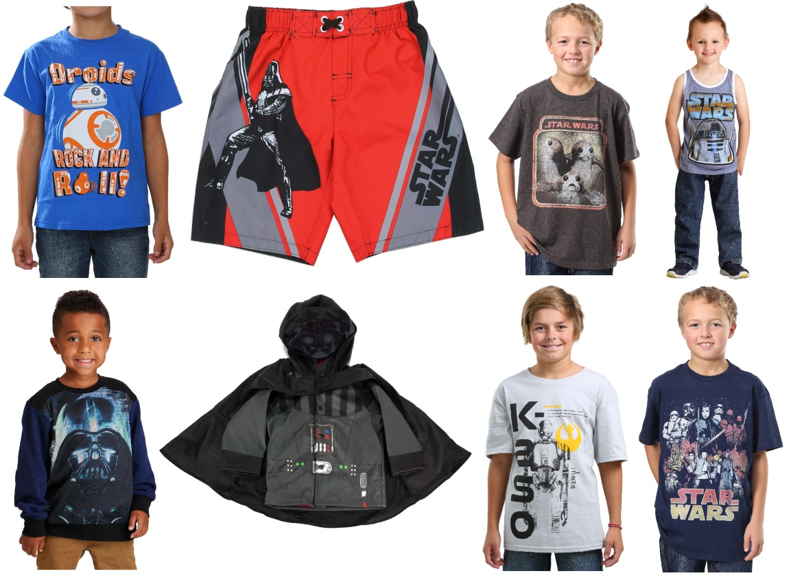 Star Wars Clothing for Boys