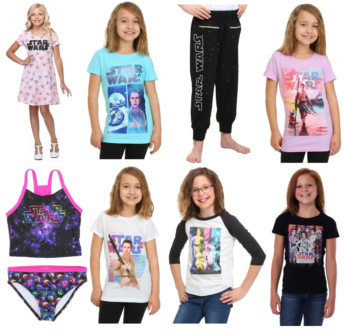 Star Wars Clothing for Girls