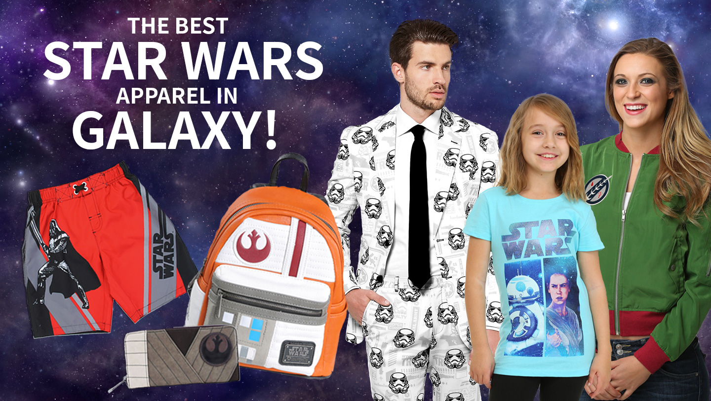 The Best Star Wars Apparel in the Galaxy