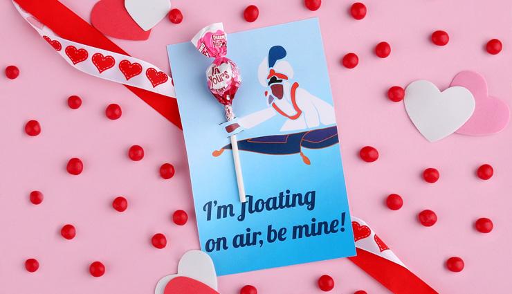 Aladdin Valentine's Day Card