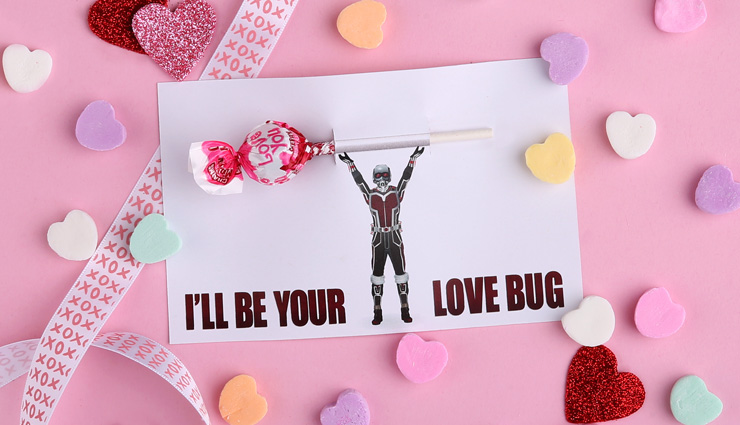 Ant-Man Valentine's Day Printable Card