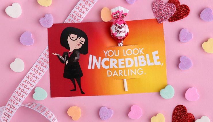 The Incredibles, Edna Valentine's Day Card