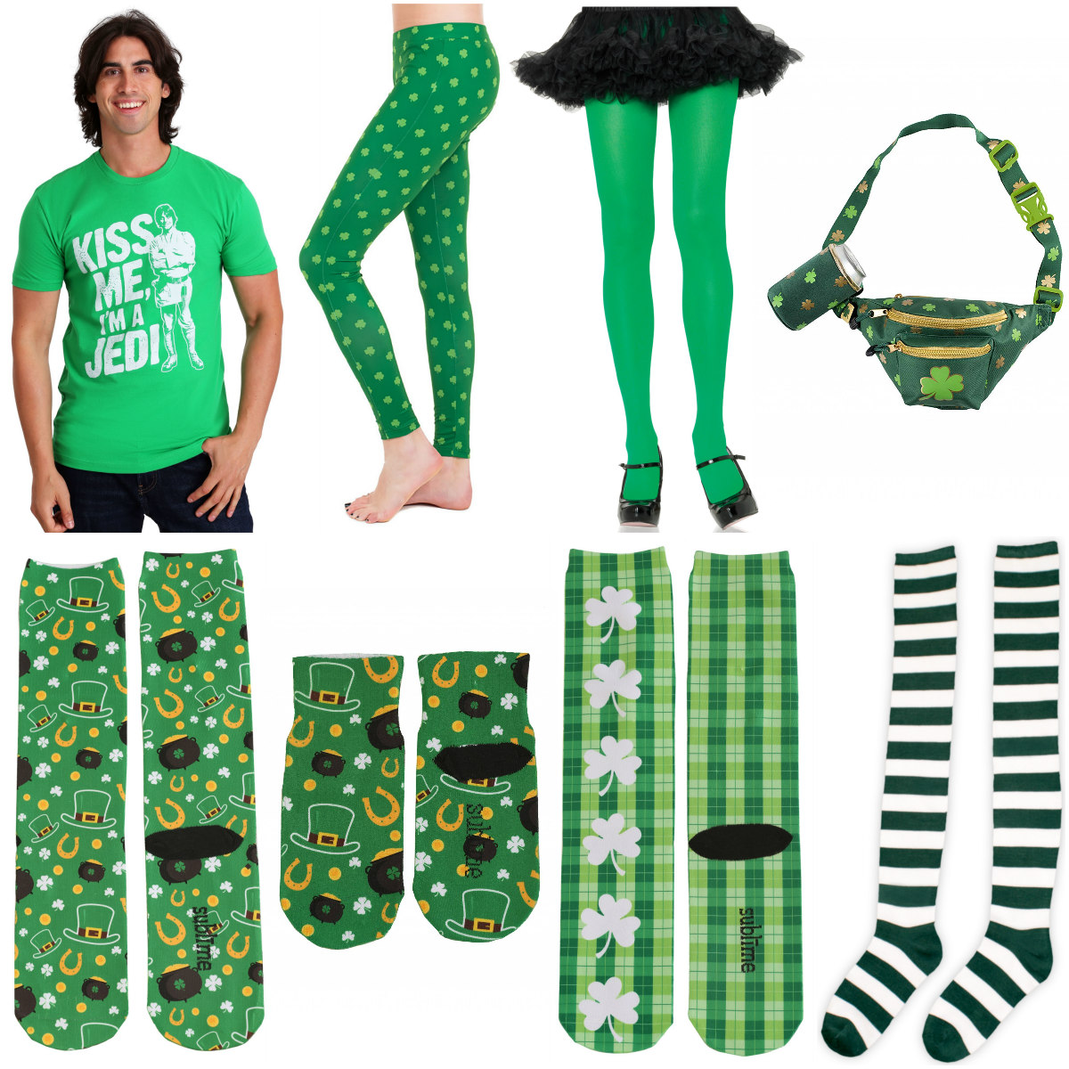 St. Patrick's Day Apparel for Your Race