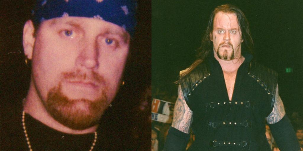 The Fake Undertaker (Brian Lee) The Undertaker (Mark Calaway)