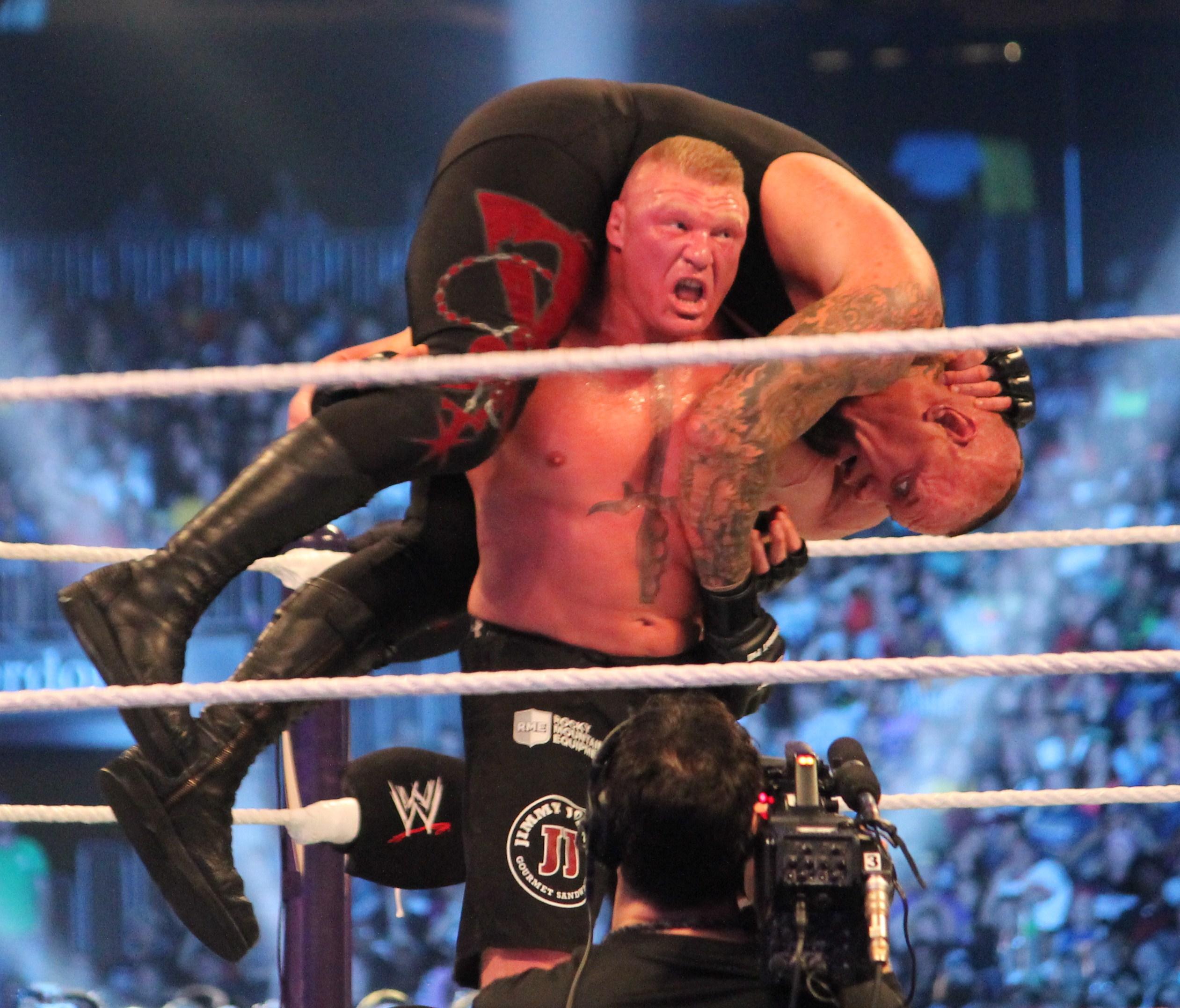 The Undertaker vs Brock Lesnar Wrestlemania 30