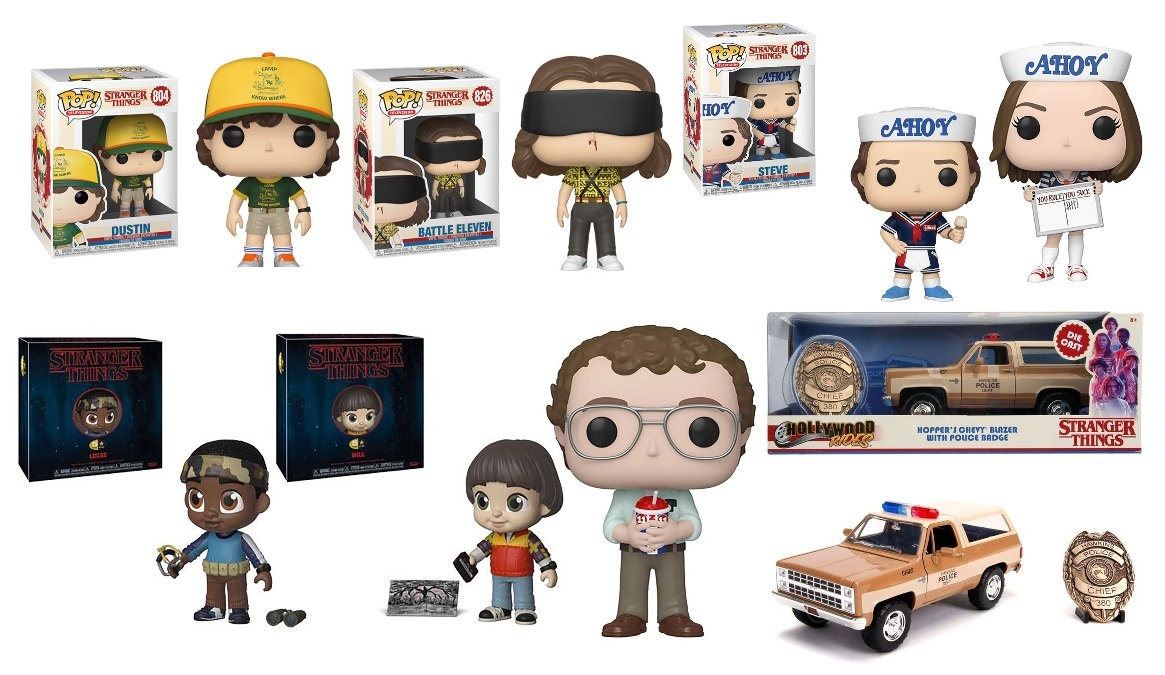 Stranger Things Collectibles and Toys