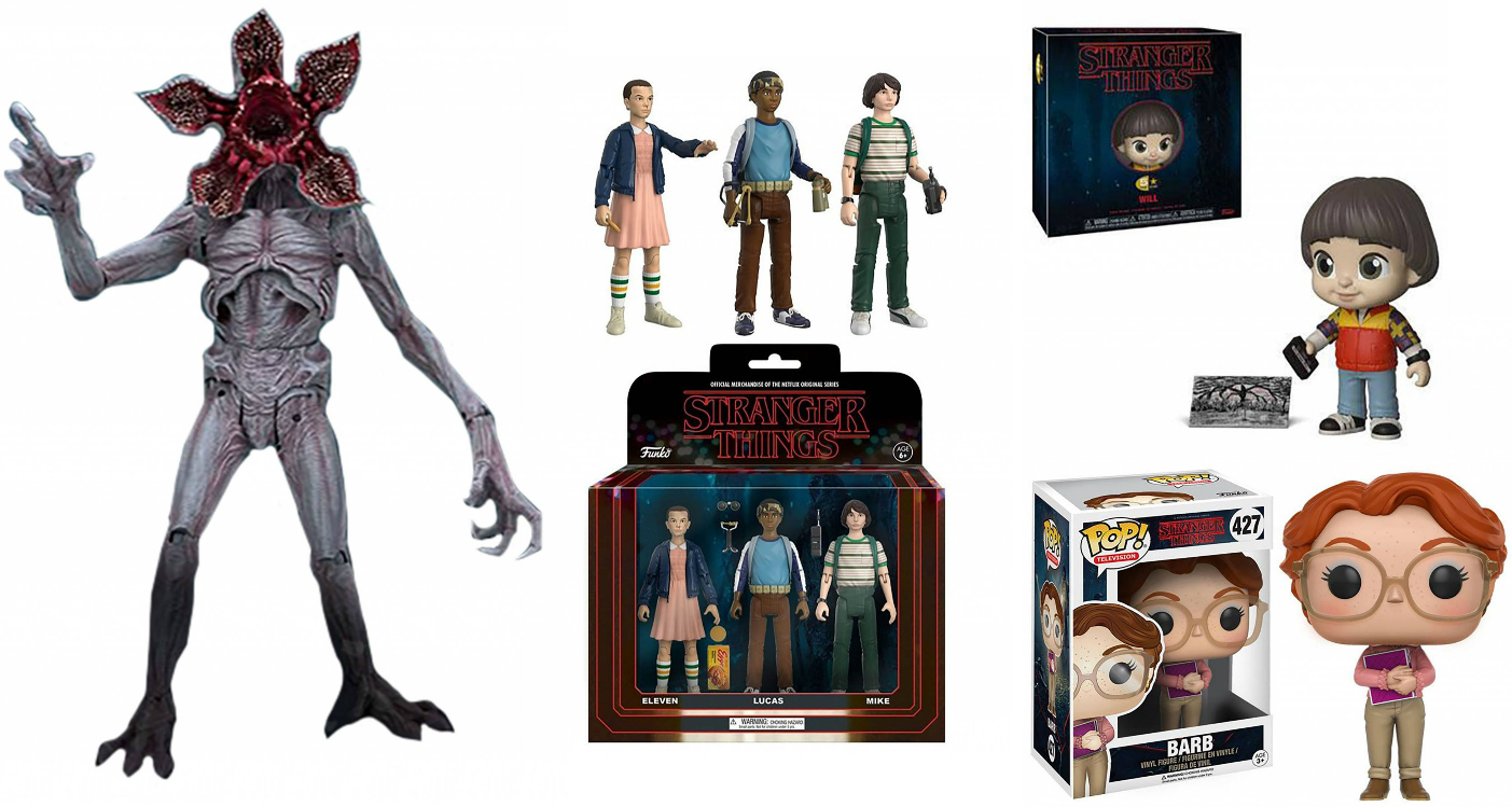 Stranger Things Collectibles Toys