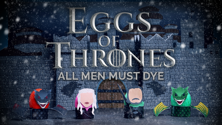 Game of Throne Easter Egg Printables