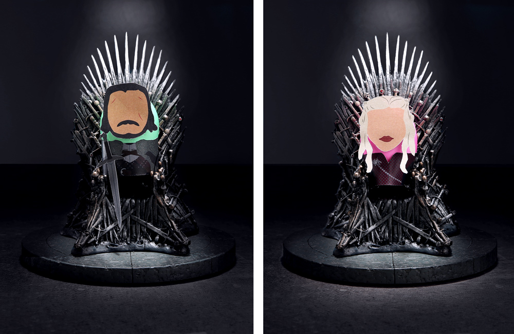 Jon and Daenerys Easter Eggs