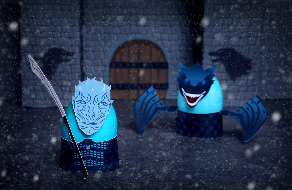 The Night King and Ice Dragon Easter Eggs