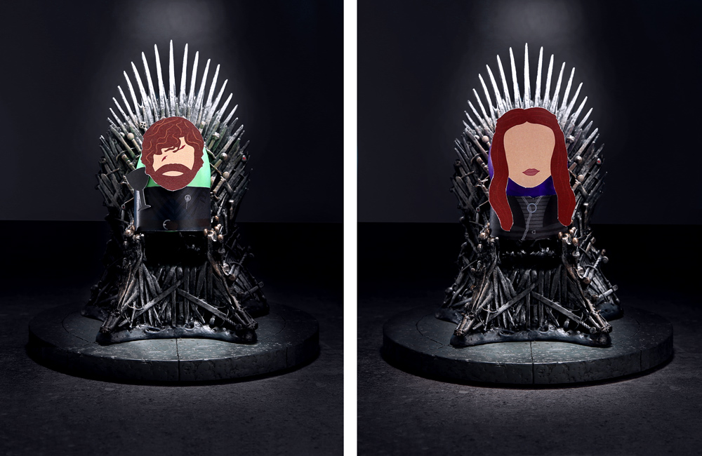 Tyrion and Sansa Easter Eggs