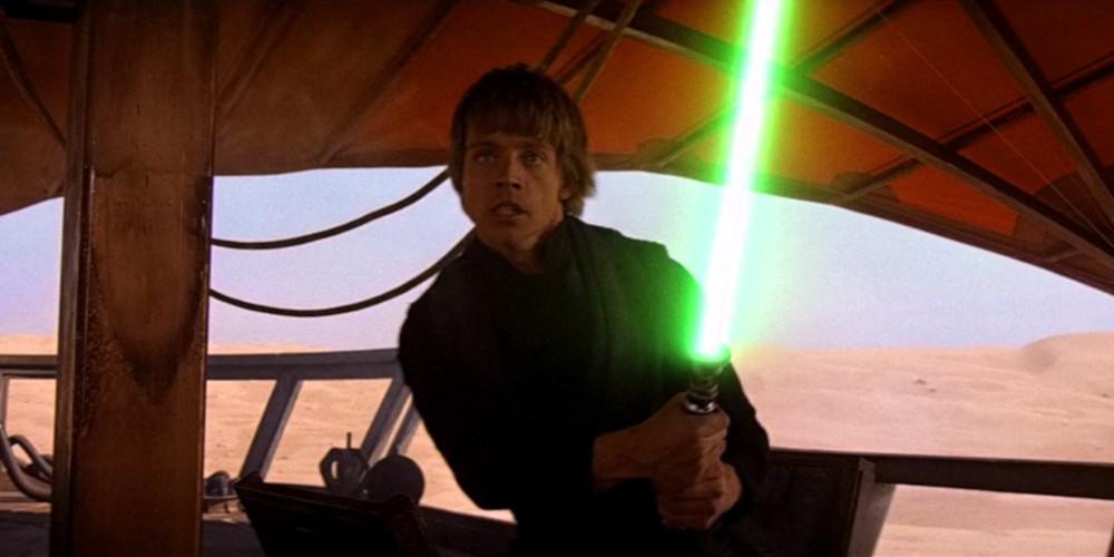 Luke Skywalker's Green Lightsaber