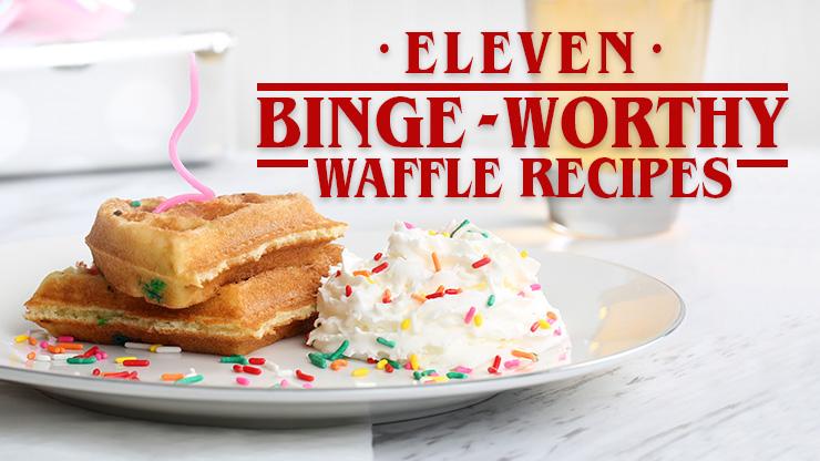 11 Binge-worthy Waffle Recipes