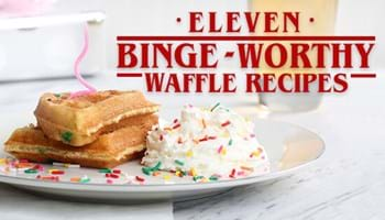 11 Binge-Worthy Waffle Recipes Even Demogorgons Will Love