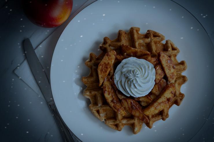 Cinnamon Apple Pie Waffle