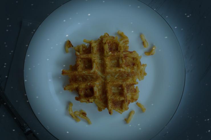 Mac 'n Cheese Waffle