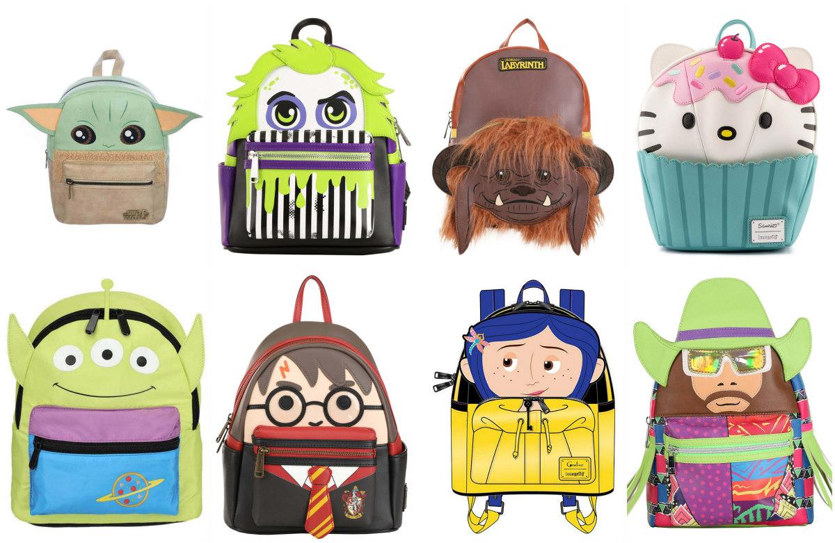 Character Mini Backpacks