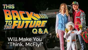 "This Back to the Future Q&A Will Make You ""Think, McFly!"""